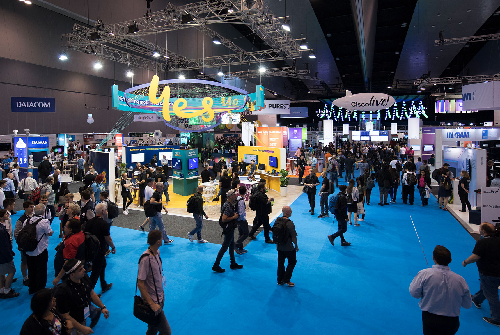 Cisco Live! 2018 exhibitors