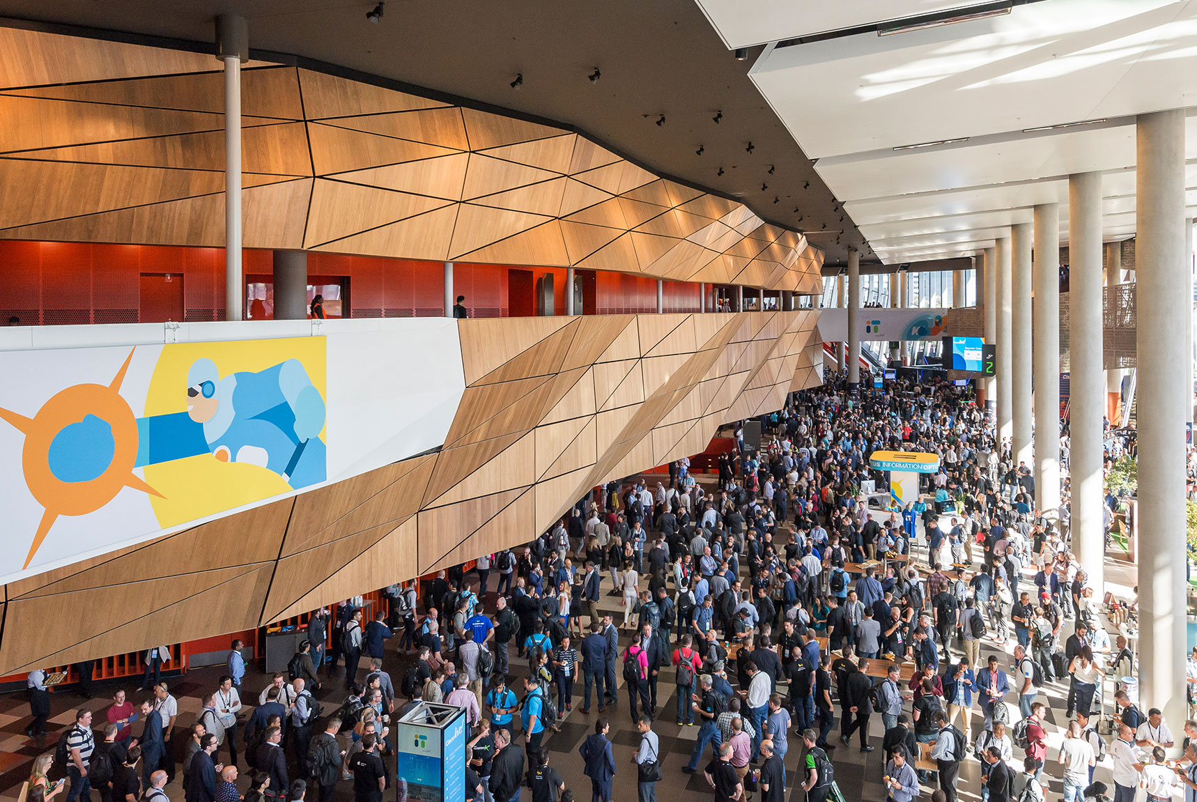Cisco Live! 2018 foyer